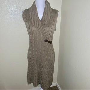 Calvin Klein Ladies Sleeveless Sweater Dress